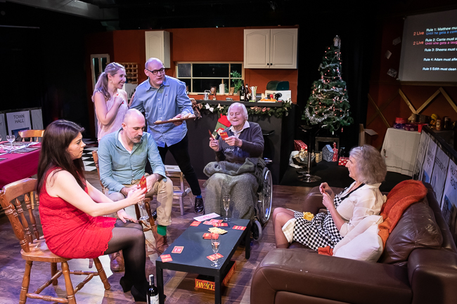 Rules for Living - Review - The Tower Theatre A darkly comic Christmas treat