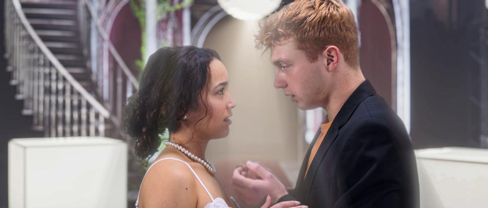 Sam Tutty & Emily Redpath in Romeo & Juliet - News The Shakespeare drama was filmed under tight Covid restrictions