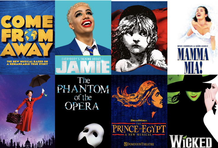 The 8 West End shows competing in West End Eurovision 2020 - News Who wins - you decide!