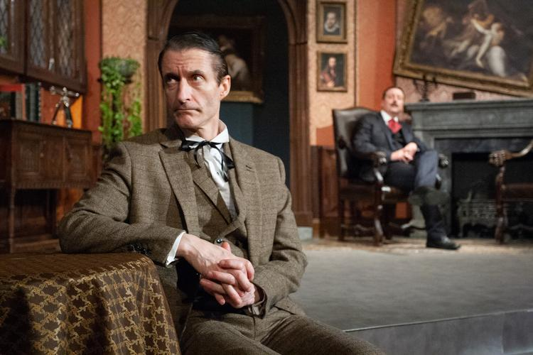 Sherlock Holmes and the Invisible Thing - Review -  Rudolf Steiner Theatre A new case for Sherlock Holmes