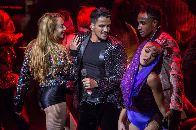 Thriller Live - Review - Lyric Theatre Peter Andre performs in MJ's tribute