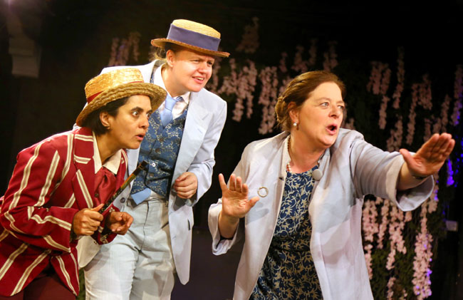 The Merry Wives of Windsor - Review - Tower Theatre A new incarnation of Shakespeare's comedy