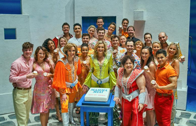 Happy Birthday MAMMA MIA! New Cast and New Booking Any cake left for me?