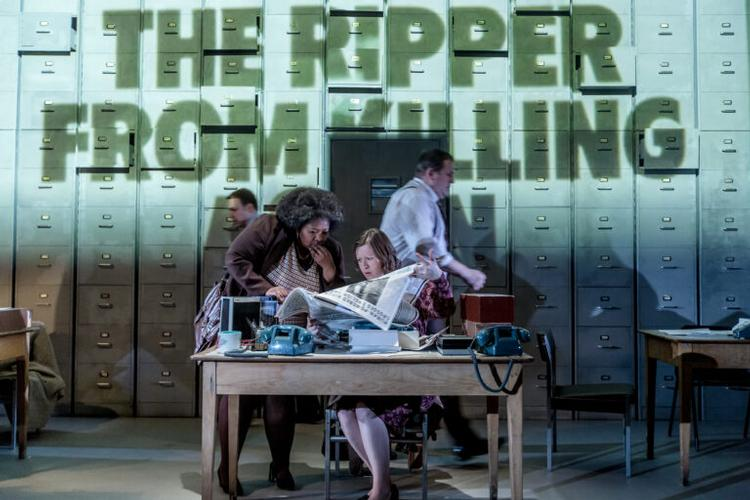 The Incident Room - Review - New Diorama Theatre A forensic examination of the five-year police hunt for the Yorkshire Ripper