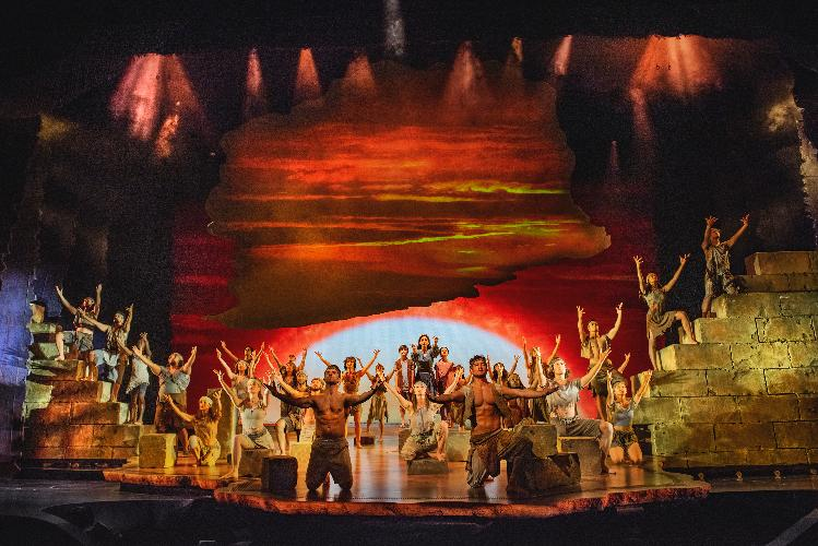 The Prince of Egypt reopens - News The show resumes performances tonight
