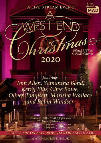 A West End Christmas - News A Christmas Live Streamed Event