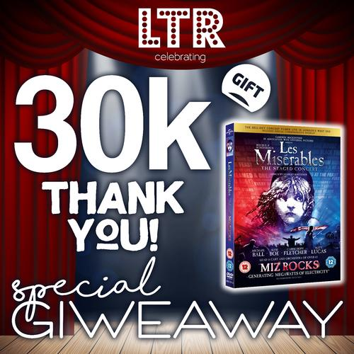 Les Misérables Giveaway -  News We celebrate our 30K+ IG Community!