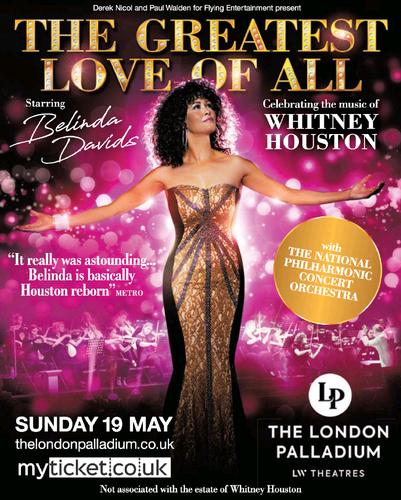 The Greatest Love of All - News A major UK tour of The Greatest Love of All will launch at the world famous London Palladium