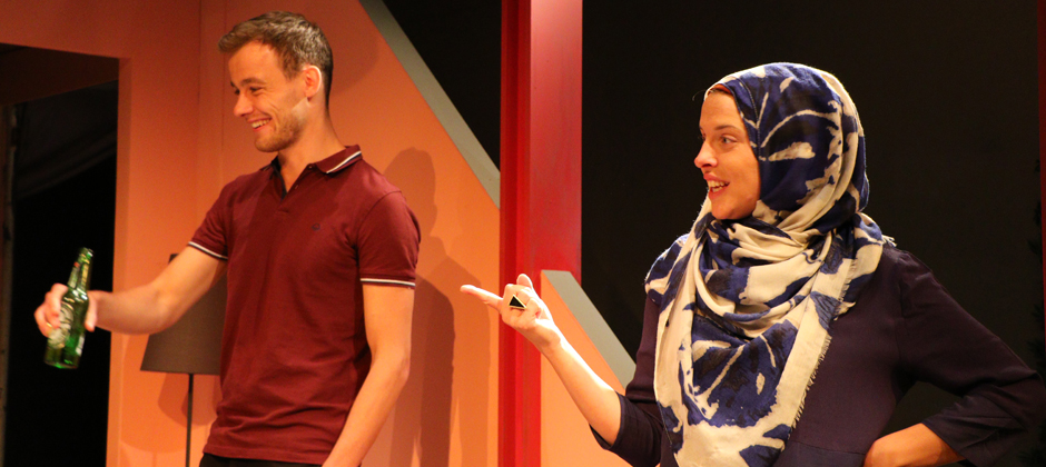 Alkaline - Review - Park Theatre A living-room drama about multiculturalism and misconceptions
