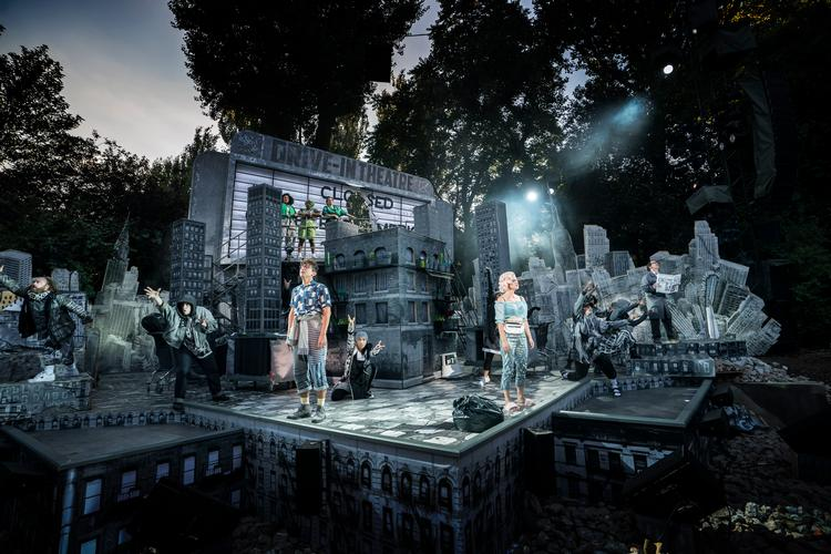 The little shop of Horrors – Review – Regent's Park Open Theatre The smash musical at the Regent's Park Theatre