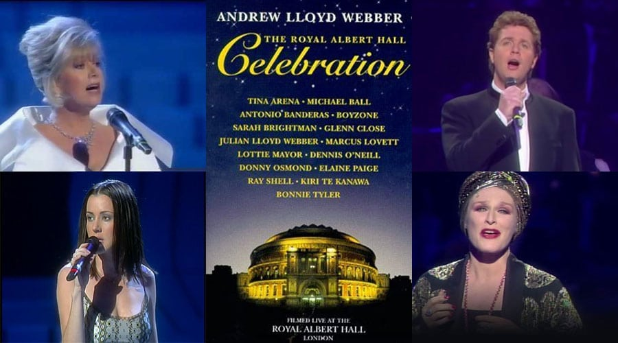 The Royal Albert Hall tribute to Andrew Lloyd Webber streamed online - News More ALW music for your weekends