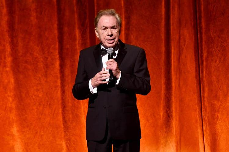 Andrew Lloyd Webber testing the London Palladium - News