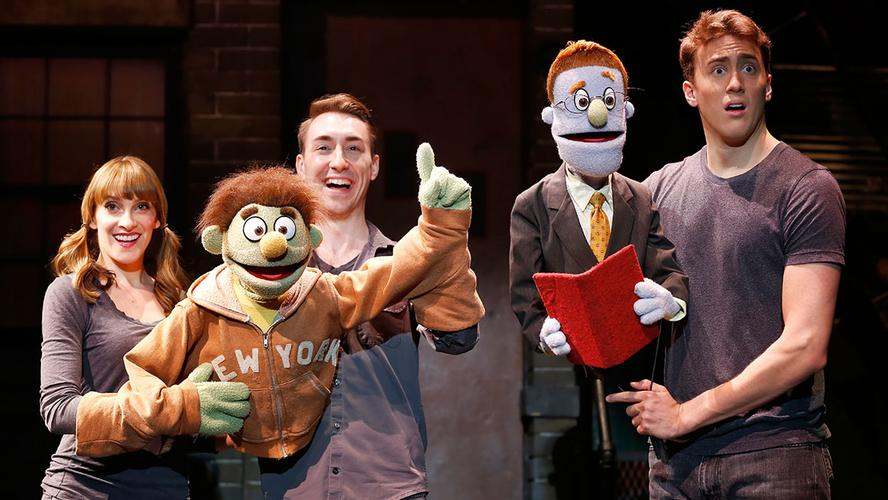 Avenue Q – Review – New World Stages Theatre – New York Our review just after the celebration of the 15th anniversary,