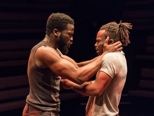 The Brothers Size  - Young Vic Theatre: 4 STARS The relationship between two brothers explored physically and emotionally