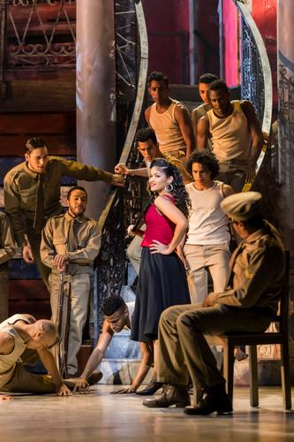 Carmen La Cubana - Review - Sadler's Wells Look, Carmen is Cuban now..