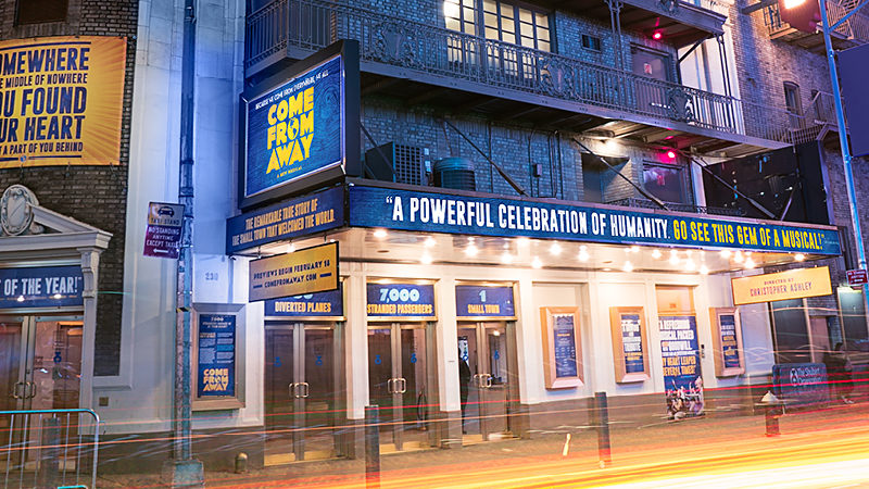 COME FROM AWAY Creators confirm Film Adaptation - News The musical will become a movie