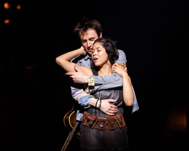 Hadestown - Review - The National Theatre The tale of Orpheus and Eurydice at the NT