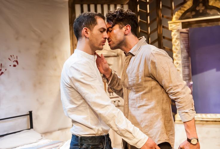 Cry Havoc - Review - Park Theatre Two men, worlds apart