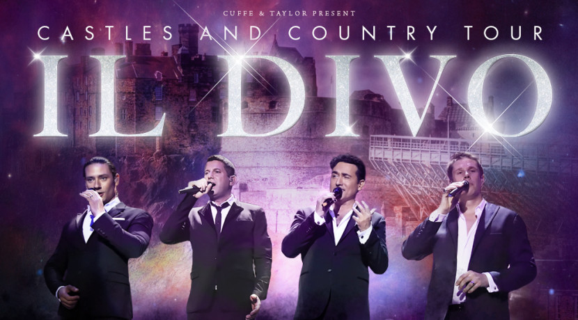 Il Divo - Review - Greenwich Time Music Festival The group in Greenwich in their Castles and Country Tour