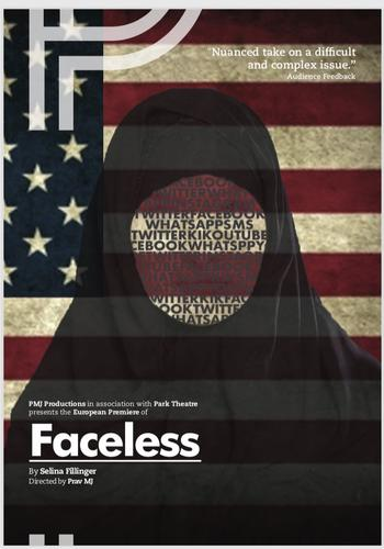 Faceless - Review - Park Theatre Guilty or not guilty?