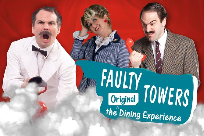 Faulty Towers The Dining Experience - Review The immersive phenomenon will celebrate its tenth year in 2021