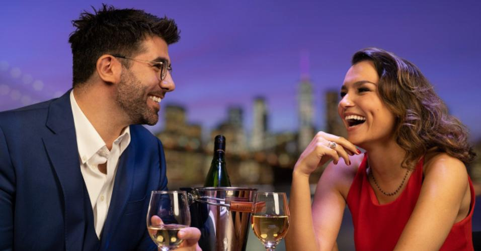 Samantha Barks and Simon Lipkin in First date - News A new virtual show has been announced