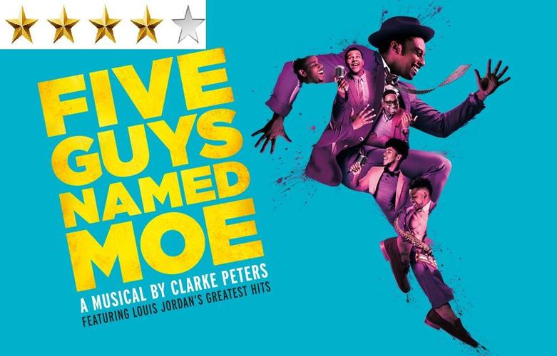 Five Guys Named Moe Theatre Review: Four Stars When new Orleans comes to London, this is what you get...