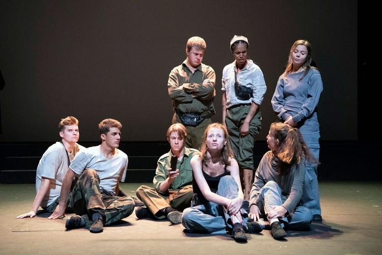Free9 - Review - National Theatre Connections Festival The story of some teenagers escaping from North Korea at the Dorfman