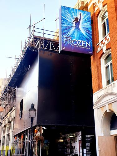 Frozen West End run delayed - News The show won't open this April