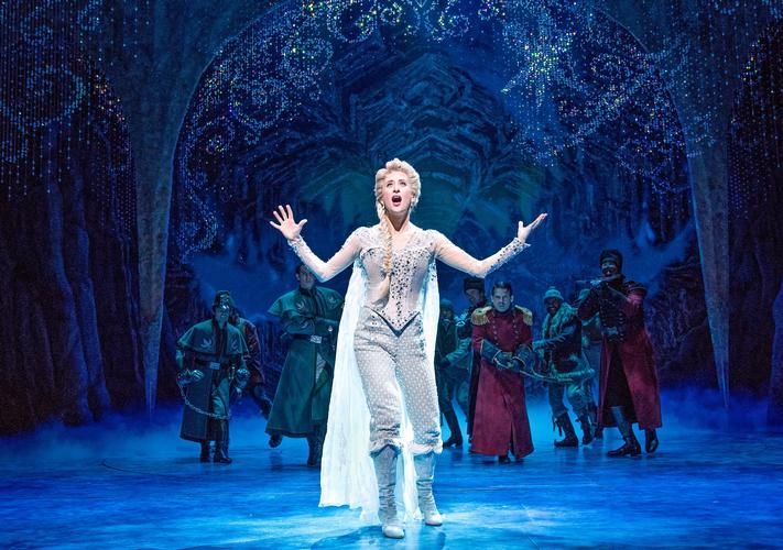 Frozen - Review - St. James Theatre, Broadway, New York The Broadway musical from the famous Disney's movie