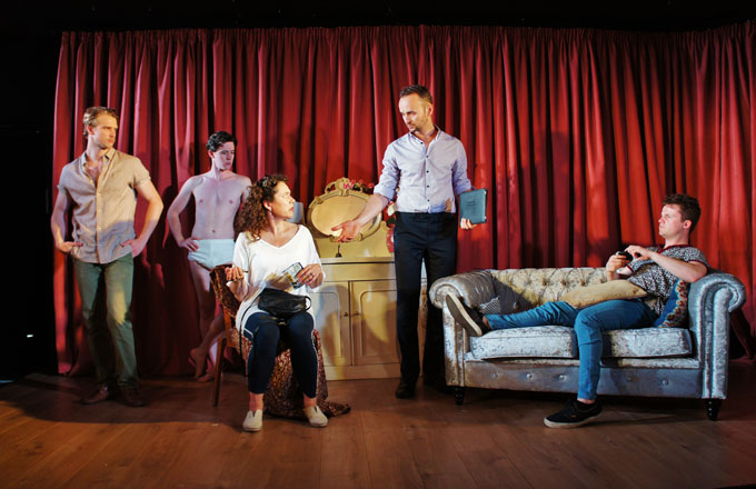 Ghost about the house - Review - King's Head Theatre A ghost in Islington?