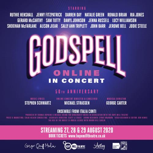 Godspell the Concert- News It will raise money for three charities