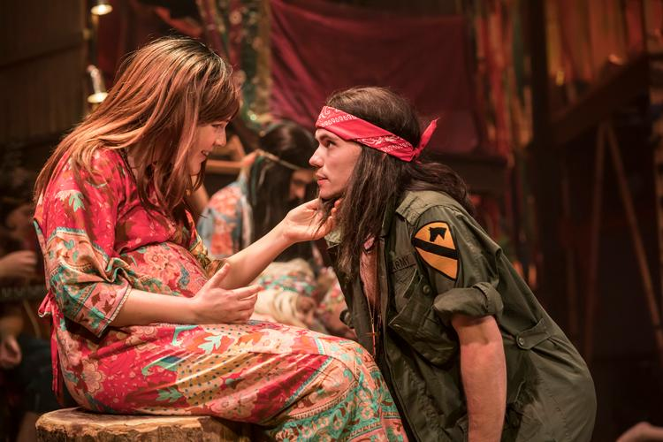 Hair The Musical - Review - New Wimbledon Theatre Let the sunshine in..