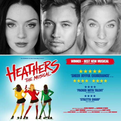 Heathers Cast Announced - News The show will return to the Theatre Royal Haymarket