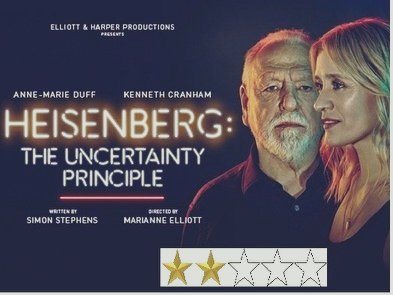 Heisenberg: The Uncertainty Principle. Two Stars Innovative and interesting dialogues but the story is pretty thin.
