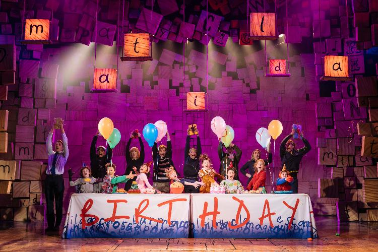 Matilda returns: the Cast - News The show will return in September