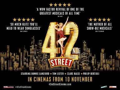 42nd Street Cinema Release - News Prepare your dancing shoes