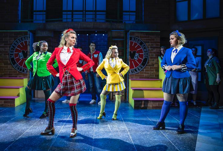 Heathers back to the West End and on tour - News The show launches a new touring production