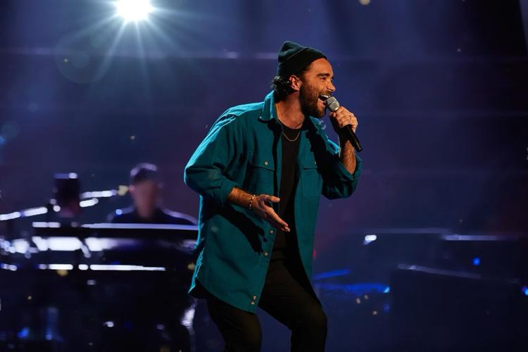 Matt Croke at The Voice - News Matt performed in the blind auditions