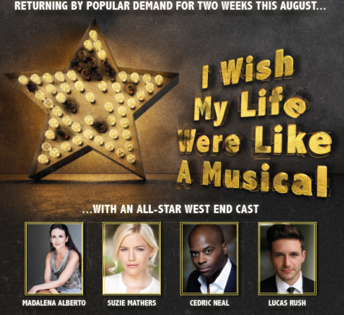 I wish my life were like a musical - review - Live at Zedel Alexander Bermange's musical revue is back at Zedel