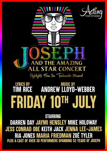Joseph and the Amazing Technicolor Dreamcoat Concert - News The all-star concert will be streamed on 10 July