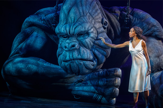King Kong - Review - Broadway Theatre (New York) The gorilla is back in town...