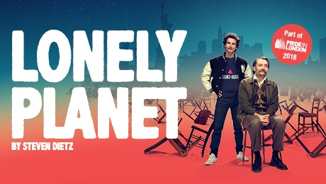 Lonely Planet - Review - Trafalgar Studios A wordy play about a tender friendship