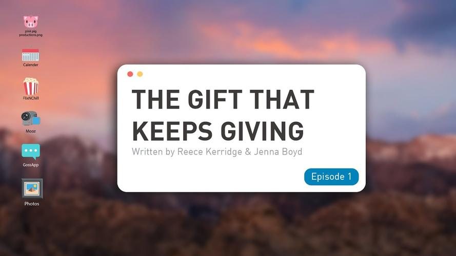 The Gift That Keeps Giving: Episode One - Review A new online sitcom with a West End Cast