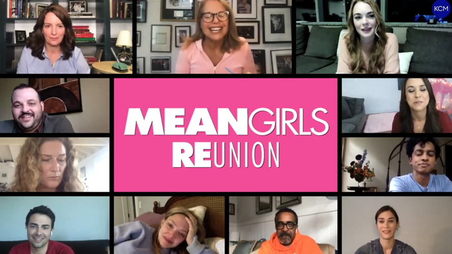 You can be in the new Mean Girls Movie - News A Cast Reunion for the First Time Since 2004