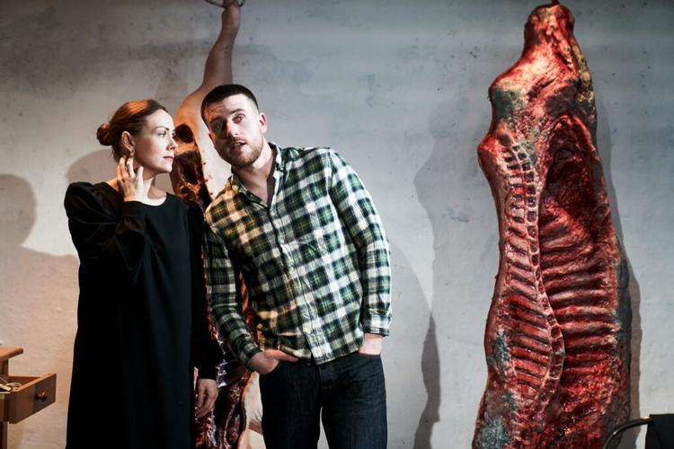 Meat - Review - Theatre 503 How can one couple navigate their shared history when their memories don't match up?