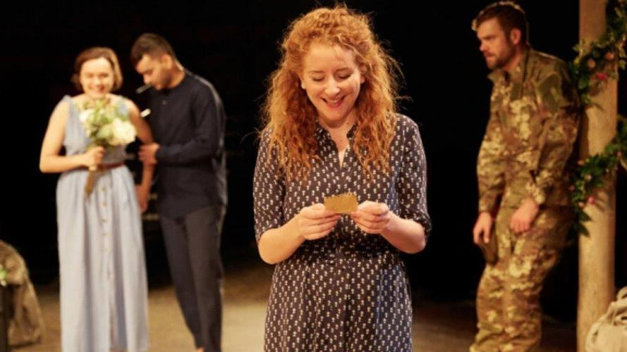 Much Ado About Nothing - Review- Wilton's Music Hall Shakespeare at the Tobacco Factory (stf) return to Wilton's Music Hall
