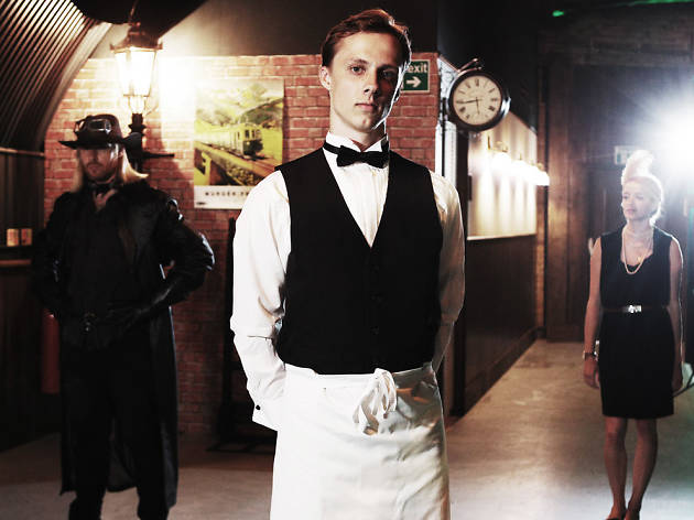 The Murder Express - Review - Pedley Street Station Fancy a dinner with murder?