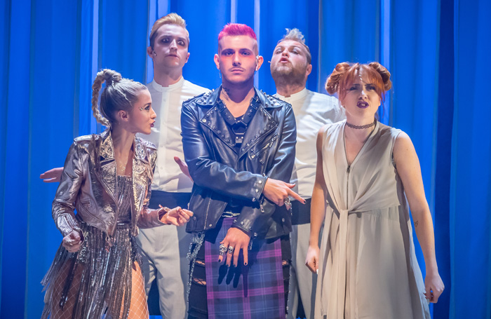 Mythic – Review - Charing Cross Theatre Troubles in Paradise. Or Hell?