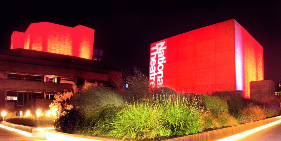 Our stunning theatres in red - News The initiative to support for the events and live entertainment industries